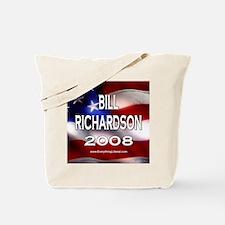 Bill Richardson Flag II Tote Bag