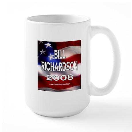 Bill Richardson Flag II Large Mug
