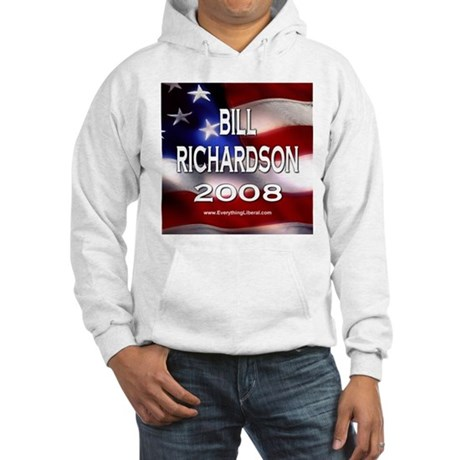 Bill Richardson Flag II Hooded Sweatshirt