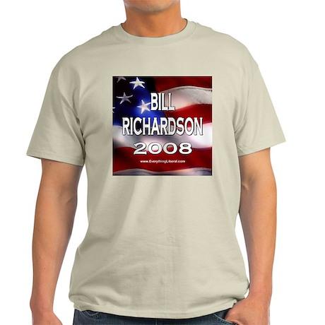 Bill Richardson Flag II Ash Grey T-Shirt
