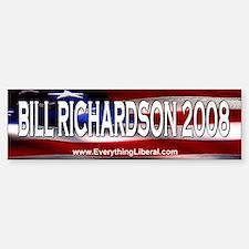 Bill Richardson Flag II Bumper Bumper Bumper Sticker