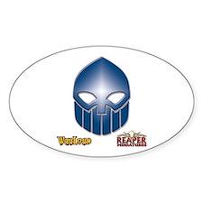 Dwarves Logo Oval Decal