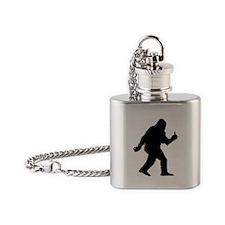 The Happy Sasquatch Flask Necklace