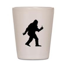 The Happy Sasquatch Shot Glass