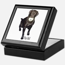 play ball Keepsake Box
