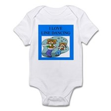 line dancing gifts and t-shir Infant Bodysuit