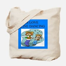 line dancing gifts and t-shir Tote Bag