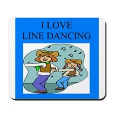 line dancing gifts and t-shir Mousepad
