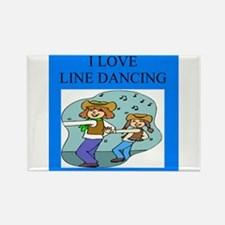 line dancing gifts and t-shir Rectangle Magnet