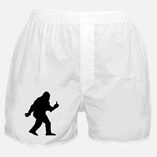 The Happy Sasquatch Boxer Shorts