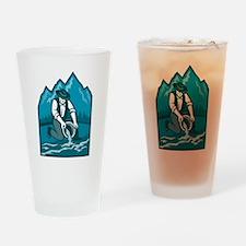 Gold Prospector Miner Pan Retro Drinking Glass