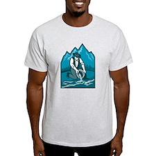 Gold Prospector Miner Pan Retro T-Shirt