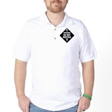 DO NOT IRRITATE Warning Sign T-Shirt