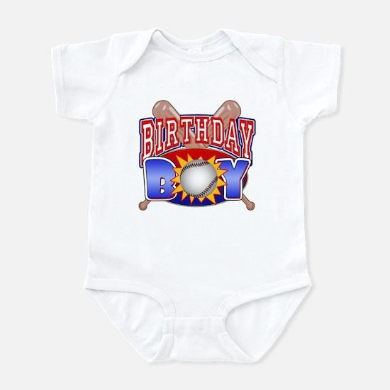 Baseball Birthday Boy Infant Bodysuit