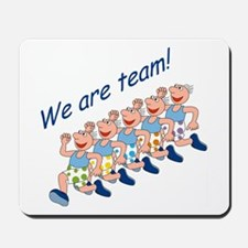 Running Team Mousepad