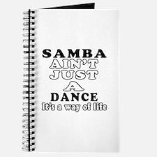 Samba Not Just A Dance Journal