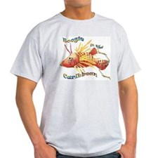 Boogie Woogie Fish Ash Grey T-Shirt