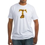Blown Gold T Fitted T-Shirt