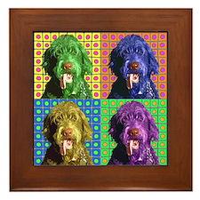 Woody's Framed Tile