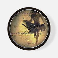 dancingcolor Wall Clock