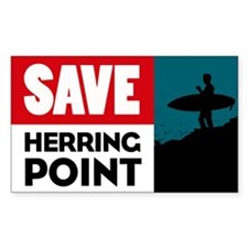 Save Herring Point Decal