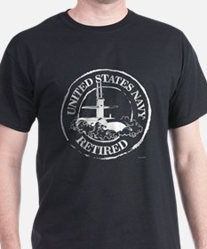 U.S. Navy Retired (Submarine) T-Shirt