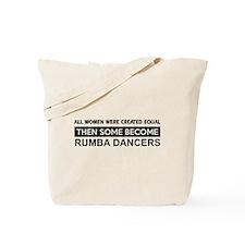 rumba dance designs Tote Bag