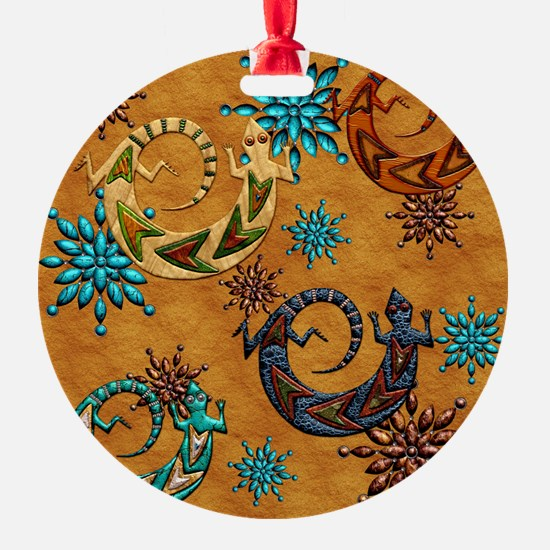 Harvest Moons Geckos Ornament