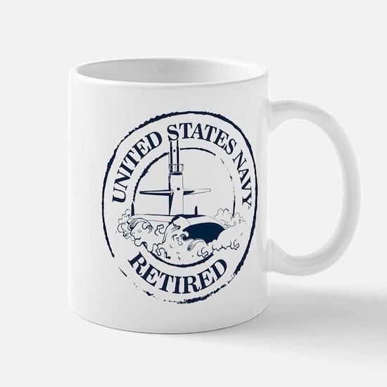 U.S. Navy Retired (Submarine) Mugs