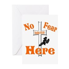 No Fear Here Greeting Cards (Pk of 10)