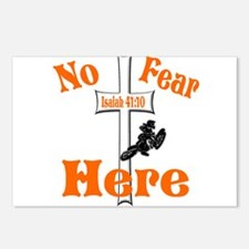 No Fear Here Postcards (Package of 8)
