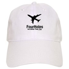 Aviation - Airliner Four Hole Baseball Cap