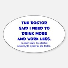 The Doctor Decal