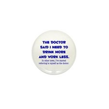 The Doctor Mini Button (10 pack)