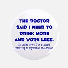 "The Doctor 3.5"" Button (100 pack)"
