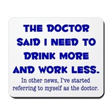 The Doctor Mousepad