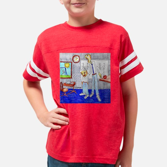 School Detention Youth Football Shirt