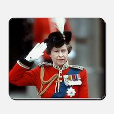 HM Queen Elizabeth II Trooping Mousepad