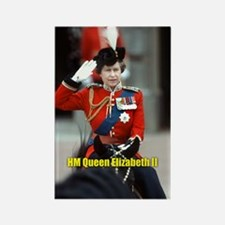 HM Queen Elizabeth II Trooping Magnets