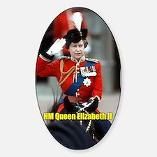 HM Queen Elizabeth II Trooping Decal