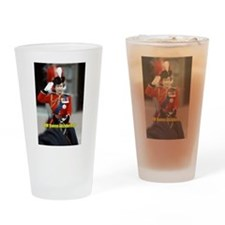 HM Queen Elizabeth II Trooping Drinking Glass