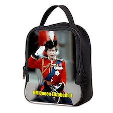 HM Queen Elizabeth II Trooping Neoprene Lunch Bag