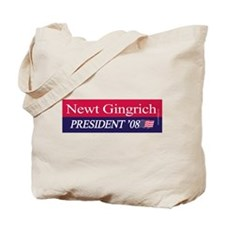 """""""Newt Gingrich for President"""" Tote Bag"""