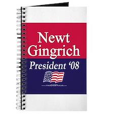 """""""Newt Gingrich for President"""" Journal"""