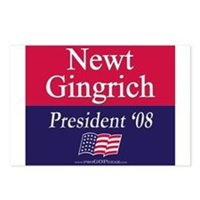 """Newt Gingrich for President"" Postcards (8)"