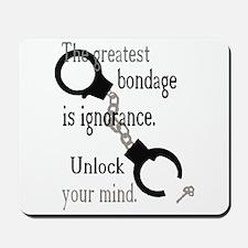 Unlock Your Mind Mousepad