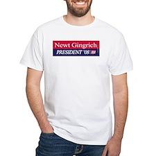 """""""Newt Gingrich for President"""" Shirt"""