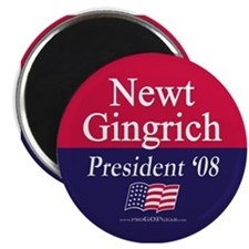 """Newt Gingrich for President"" Magnet"