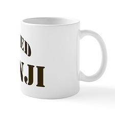 Basenji: Guarded by Coffee Mug