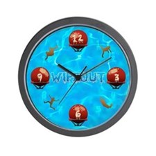 Wipeout Wall Clock